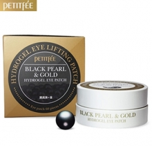 PETITFEE Black Pearl & Gold Hydro Gel Eye Patch 60ea,PETITFEE
