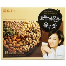 DAMTUH Walnut, Almond & Adlay Tea 18g*15ea,DAMTUH