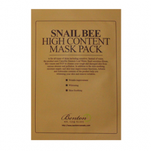 BENTON Snail Bee High Content Mask Pack 20g,BENTON