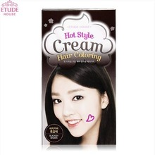 ETUDE HOUSE Hot  Style Cream Hair Coloring Gray Hair Cover (Dark Brown),ETUDE HOUSE
