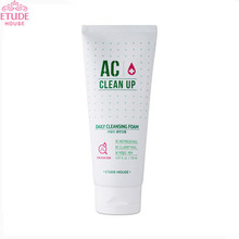 ETUDE HOUSE AC Clean Up Daily Acne Foam Cleanser 150ml,ETUDE HOUSE