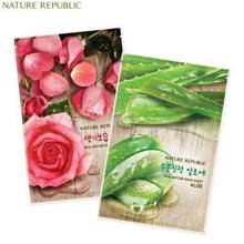 NATURE REPUBLIC Real Nature Mask Sheet 23ml*10ea,NATURE REPUBLIC