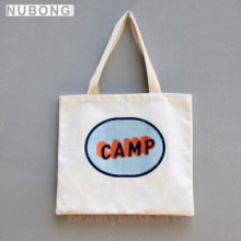 NUBONG Nuvento X Campergraphic Camp Eco Bag Peach,NUBONG