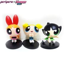 PERIPERA Poewepuff Girls Figure 1ea [Powerpuff Girls Limited],PERIPERA