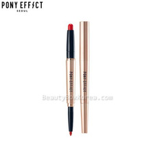 PONY EFFECT Contour Lip Color 1.2g+0.2g,PONY EFFECT