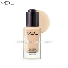 VDL Air Fluid Foundation Velvet SPF30 PA++ 30ml, VDL