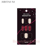 ARITAUM Holiday MODI Gel Nail Design Tip 1ea [Dreamy Holiday Limited Edition],ARITAUM