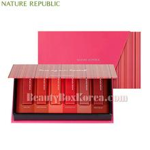 NATURE REPUBLIC Mini Lip Kit Matte Edition 1.3g*6ea (Online excl.),NATURE REPUBLIC
