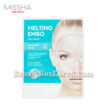 MISSHA Melting Embo Gel Mask 33g*5ea,MISSHA