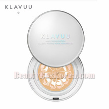KLAVUU White Pearlsation All Day Fitting Pearl Serum Pact SPF50+ PA++++ 12.5g,KLAVUU