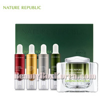 NATURE REPUBLIC Ginseng Royal Silk Luxury Care Set 60g+10ml*4ea [Limited],NATURE REPUBLIC