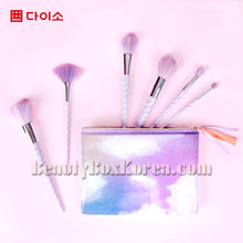 DAISO Unicorn Makeup Brush 1ea,Own label brand