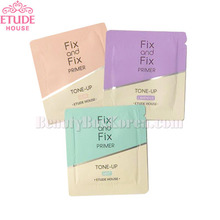 [mini] ETUDE HOUSE Fix and Fix Tone Up Primer SPF33 PA++ 1ml*10ea,ETUDE HOUSE
