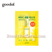 GOODAL Green Tangerine Vita C Dark Spot Serum Sheet Mask 30ml,GOODAL