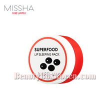MISSHA Superfood Black Bean Lip Sleeping Pack 7g,MISSHA