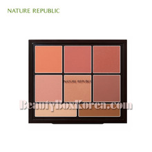 NATURE REPUBLIC Pro Touch Blusher Palette 34g,NATURE REPUBLIC
