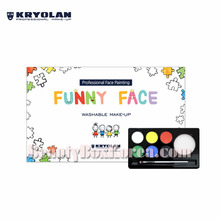 KRYOLAN Funny Face Palette 6colors 35ml,KRYOLAN