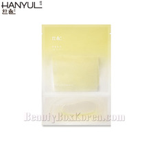 HANYUL Yuja Oil Sheet Mask 24ml, HANYUL