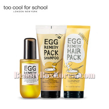 TOO COOL FOR SCHOOL Egg Remedy Hair Care Set 3items,TOO COOL FOR SCHOOL