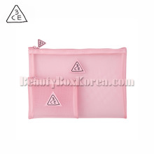 3CE Pink Rumour Mesh Pouch 2ea,3CE