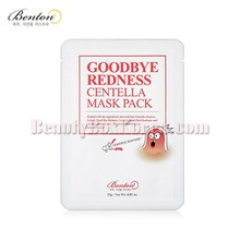 BENTON Goodbye Redness Centella Mask Pack 23g,BENTON