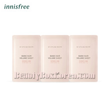 INNISFREE My Styling Recipe Bang Hair Volume Sheet 1.5g*3ea,INNISFREE