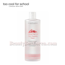 TOO COOL FOR SCHOOL Mineral Pink Salt Deep Cleansing Water 500ml,TOO COOL FOR SCHOOL