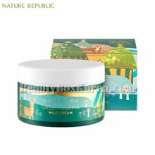 NATURE REPUBLIC Green Derma Mild Cream 190ml[Green Holiday Edition],NATURE REPUBLIC