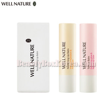 WELL NATURE Lip Balm Set 2items,WELL NATURE