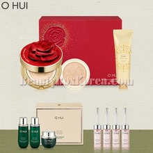 O HUI Ultimate Cover Cushion Moisture Red Rose Petal Special Set 10items,OHUI