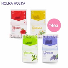 HOLIKA HOLIKA Instantly Brewing Tea Bag Mask 27ml*4ea,HOLIKAHOLIKA