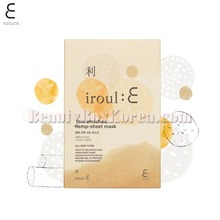 E NATURE Yam Enriched Hemp-Sheet Mask 35g*5ea,E NATURE