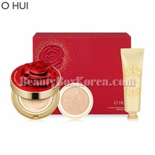 O HUI Ultimate Cover Cushion Moisture Red Rose Petal Set 3items,OHUI