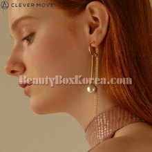 CLEVER MOVE #400 Earrings Gold 1pair,CLEVER MOVE