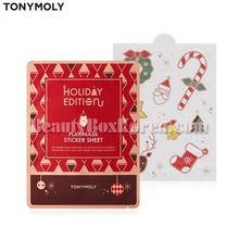 TONYMOLY Play Mask Sticker Sheet 8g[2018 Holiday Edition],TONYMOLY