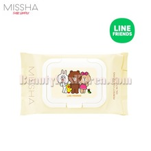 MISSHA Perfect Cleansing Tissue 30ea[LINE FRIENDS Edition],MISSHA