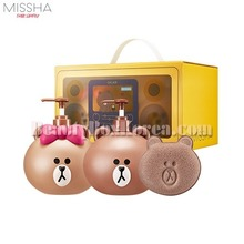 MISSHA Body Set Moringa 3items[LINE FRIENDS Edition],MISSHA