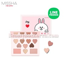 MISSHA Color Filter Shadow Palette 15g[LINE FRIENDS Edition],MISSHA