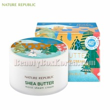 NATURE REPUBLIC Shea Butter Cream Moist 100ml[Green Holiday Edition],NATURE REPUBLIC