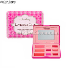 COLOR DEEP 9 Color Lovesom Lips Lip Palette 10.2g,COLOR DEEP