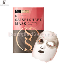 FLOWFUSHI Saisei Sheet Mask Eye Zone 16.5g*2ea,FLOWFUSHI