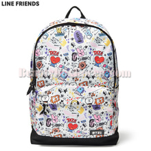 LINE FRIENDS BT21 Graphic Mesh Backpack 1ea,LINE FRIENDS