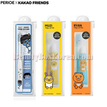 PERIOE KAKAO FRIENDS Travel Kit Toothbrush&Toothpaste Set 3items,PERIOE