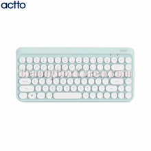 ACTTO Retro Mini Bluetooth Keyboard Mint 1ea,ACTTO
