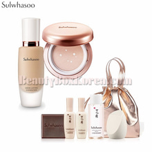 SULWHASOO Sheer Lasting Gel Cushion&Foundation Set 8items,SULWHASOO