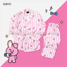 HUNT INNERWEAR BT21 Pajama Set 1ea,HUNT INNERWEAR