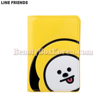 LINE FRIENDS BT21 Enamel Passport Case 1ea,LINE FRIENDS