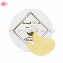 ETUDE HOUSE Jewel Beam Eye Patch Classic Gold 1.4g 60sheets,ETUDE HOUSE