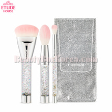 ETUDE HOUSE My Beauty Tool Twinkle Mini Brush Set 3items[Snow Edition],ETUDE HOUSE