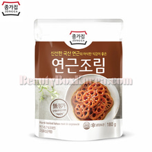 JONGGA Hard-Boiled Lotus Root In Soysauce 180g,JONGGA